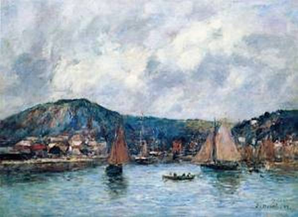 Cherbourg the Port 1883